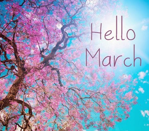 Hello March Images Quotes Pictures Photos | Welcome March and Goodbye February Month Facebook Cover Timeline Pics