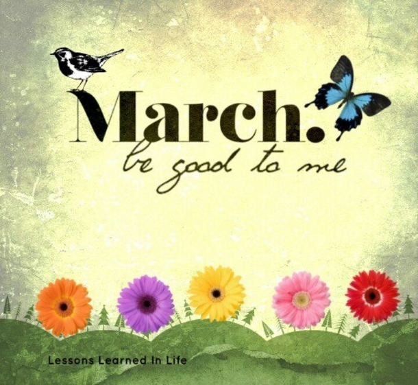 March Month Wallpaper