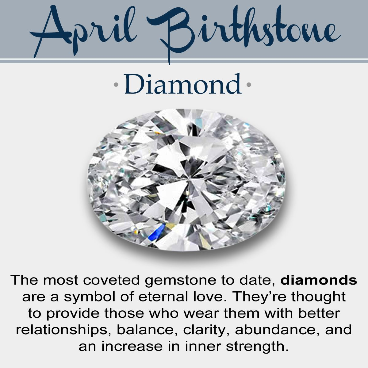 April Month Birthstone