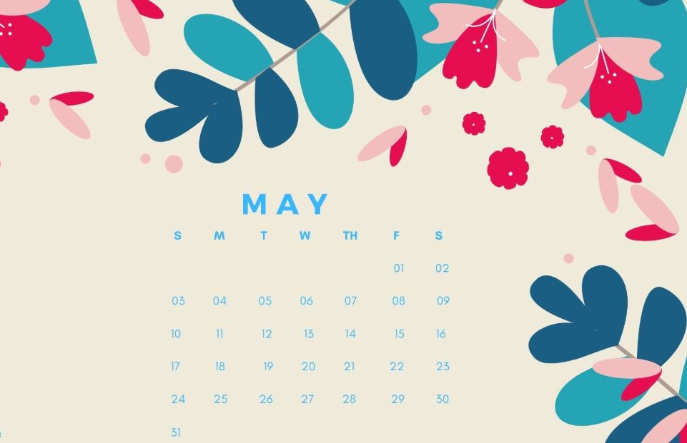 May 2020 Calendar HD Wallpaper